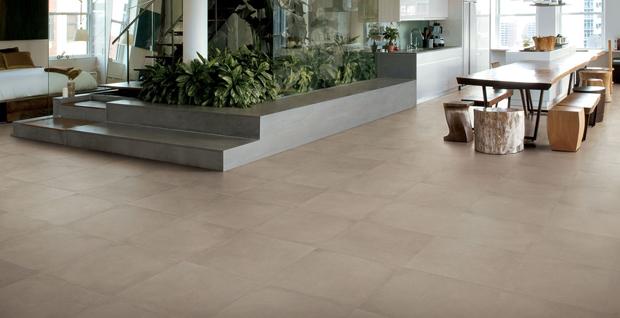 Keramikboden aus Novoceram Ciment