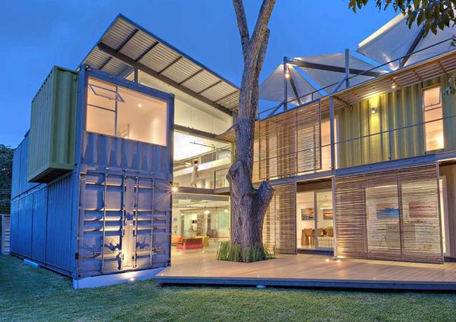 Wohncontainer: Beispiele für wirtschaftliche Konstruktionen ...