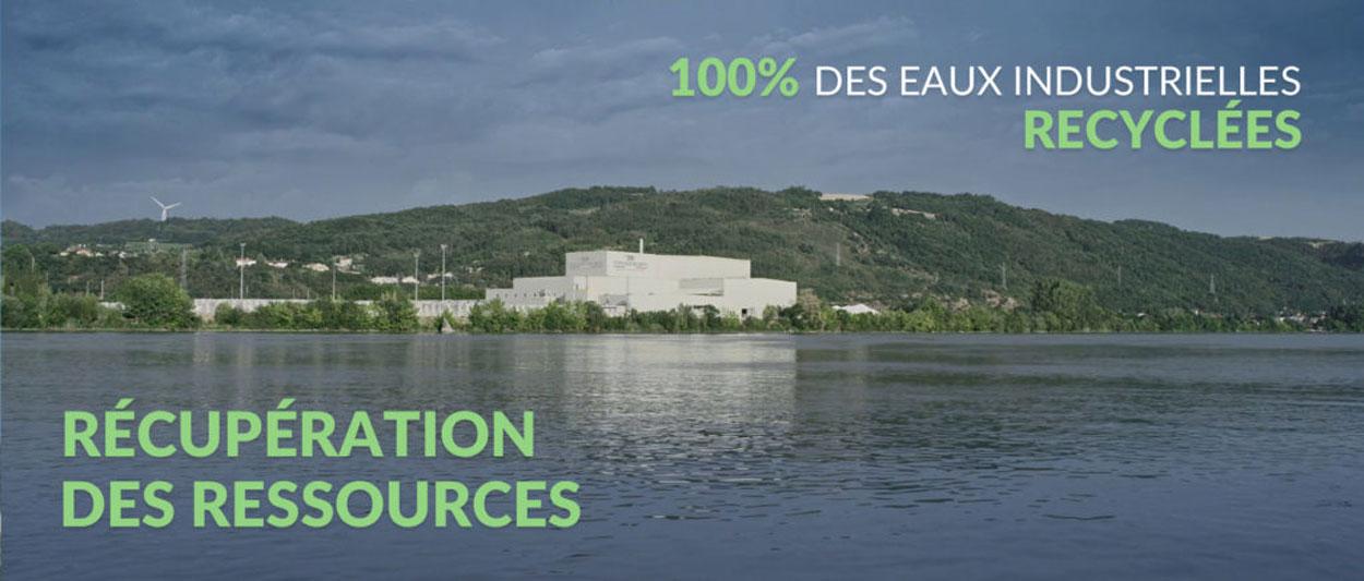 100% recyceltes Industriewasser