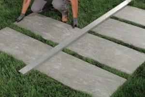cast structure 45x90 outdoor plus verlegung auf rasen